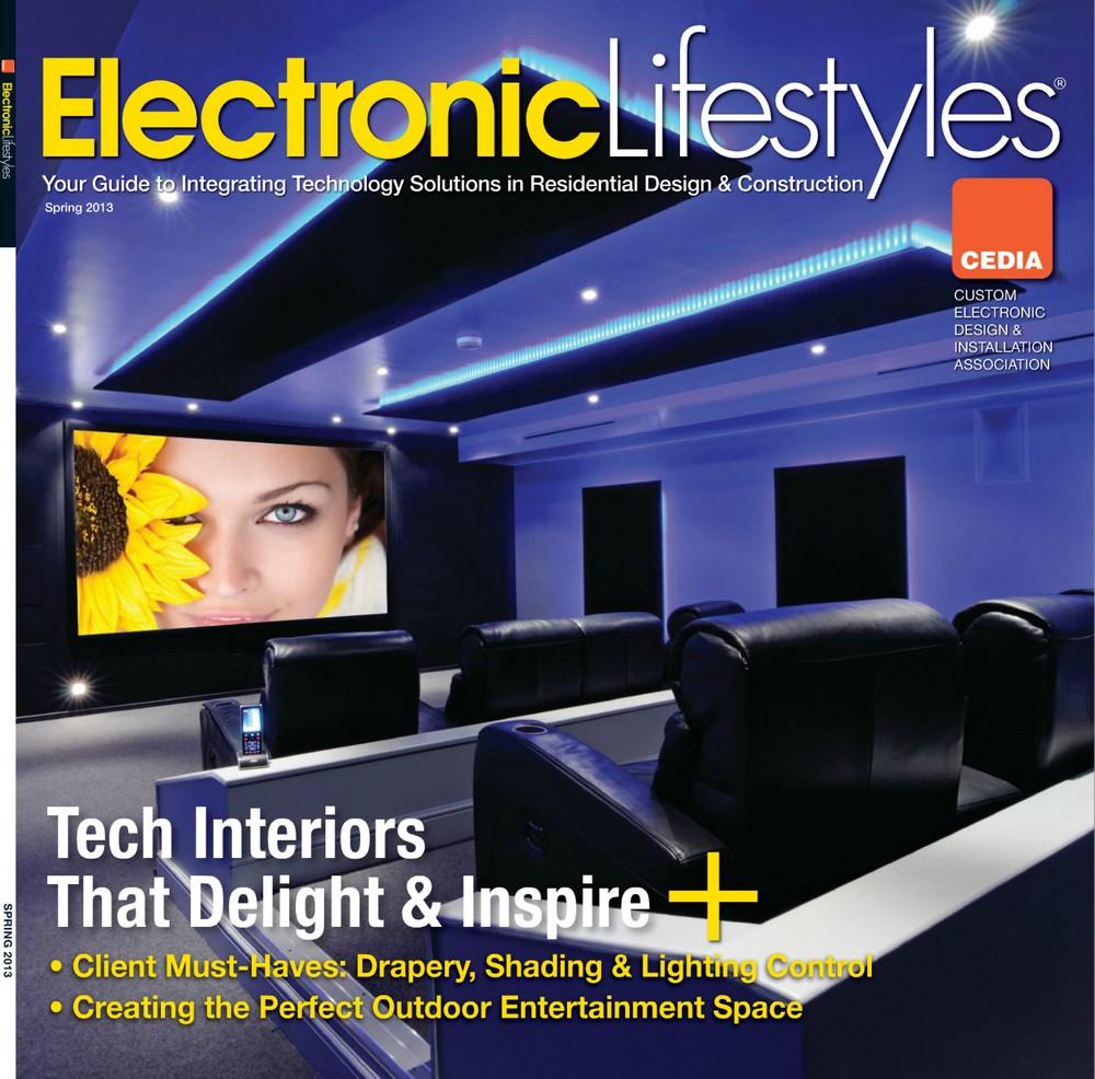 """Okładka magazynu """"Electronic Lifestyle"""" (źródło zdjęcia: http://chriswoolman.com/)"""