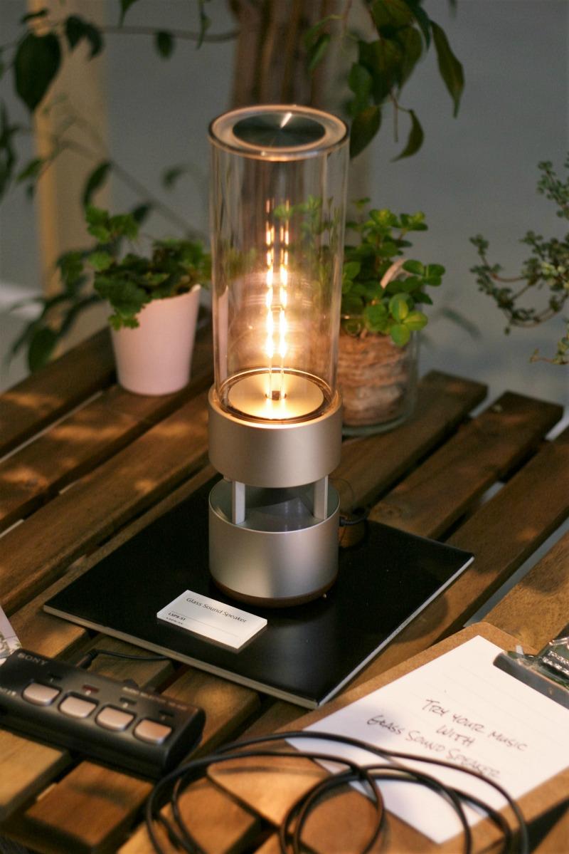 Lampa i głośnik w jednym od Sony