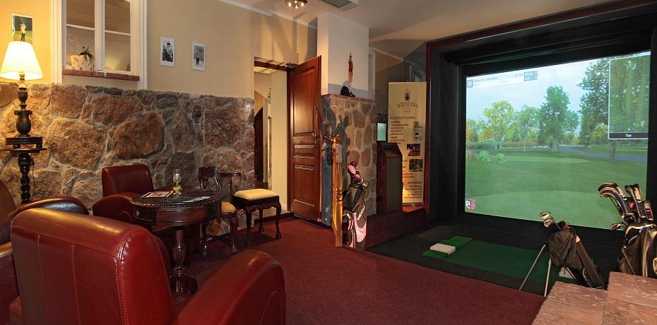 Symulator gry w golfa