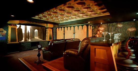 Sala kinowa dla fana Władcy Pierścieni