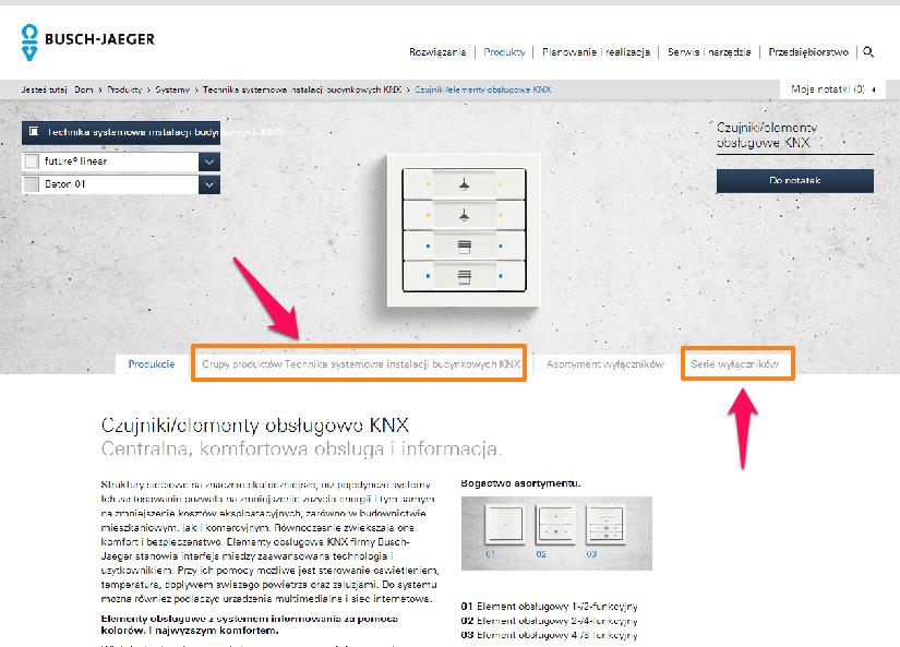 Strona internetowa ABB