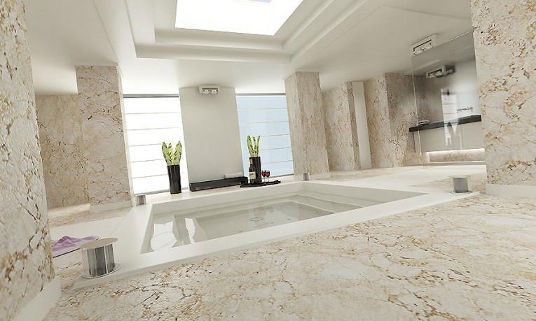 Łazienka w inteligentnym domu