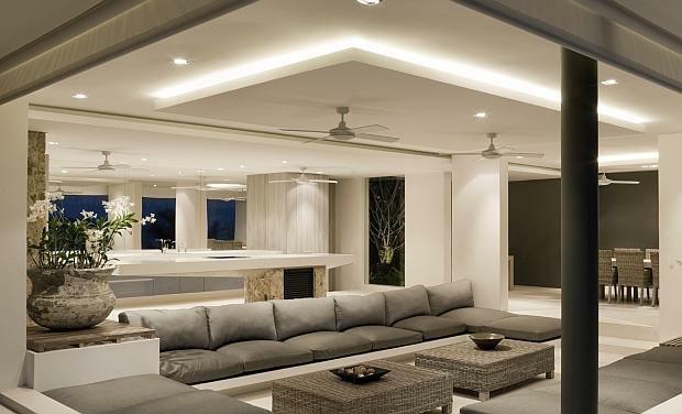 Oświetlenie LED w salonie